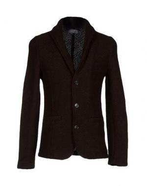 Пиджак STILOSOPHY INDUSTRY. Цвет: темно-коричневый