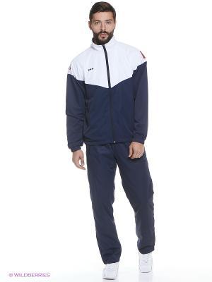Спортивный костюм ADDIC. Цвет: синий