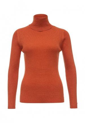 Водолазка Tom Tailor Denim. Цвет: оранжевый