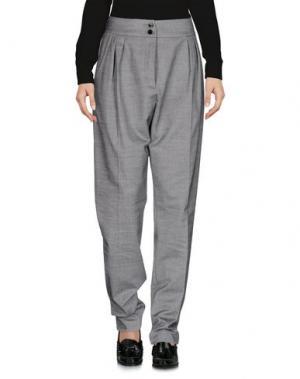 Повседневные брюки VANESSA BRUNO ATHE'. Цвет: серый