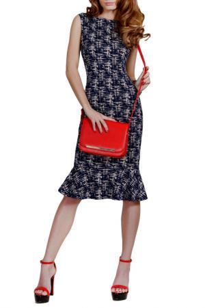 Платье FRANCESCA LUCINI. Цвет: штрихи