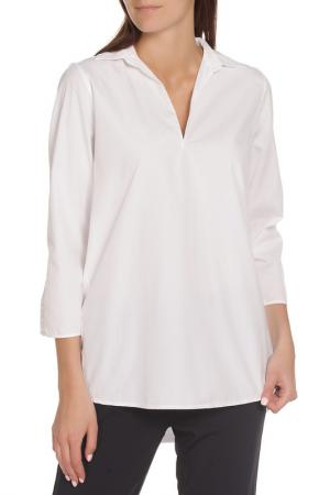 Рубашка с рукавами 3/4 EUROPEAN CULTURE. Цвет: белый
