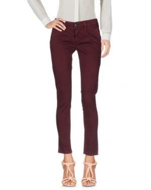 Повседневные брюки DW⁵. Цвет: розовато-лиловый