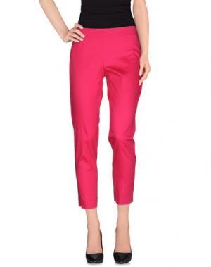 Повседневные брюки TO-MAY. Цвет: фуксия