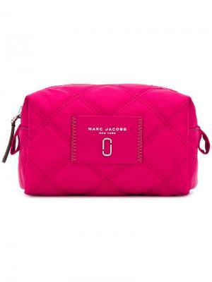Косметичка Narrow Marc Jacobs. Цвет: розовый и фиолетовый