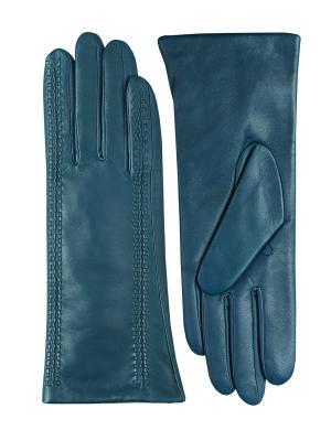 Перчатки ESMEE. Цвет: синий, бирюзовый