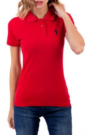 Polo t-shirt CLUB С.H.A.. Цвет: red