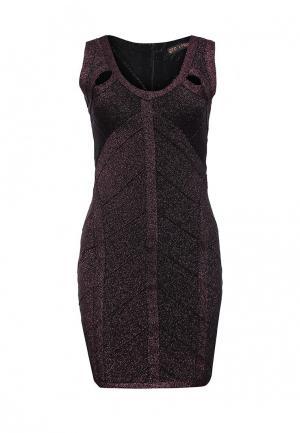 Платье QED London. Цвет: розовый