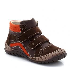 Высокие ботинки из кожи abcd'R. Цвет: синий морской,темный каштан
