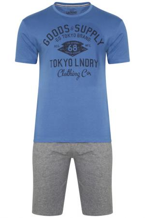 Пижама TOKYO LAUNDRY. Цвет: синий