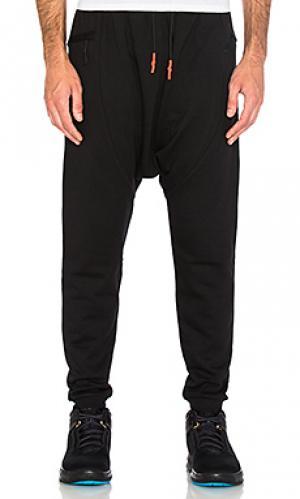 Флисовые брюки shogun Brandblack. Цвет: черный