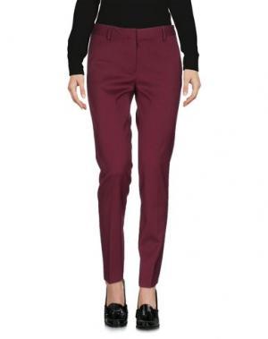 Повседневные брюки MAURO GRIFONI. Цвет: красно-коричневый