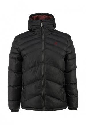 Куртка утепленная Kangol. Цвет: черный