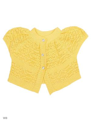 Болеро Babycollection. Цвет: желтый
