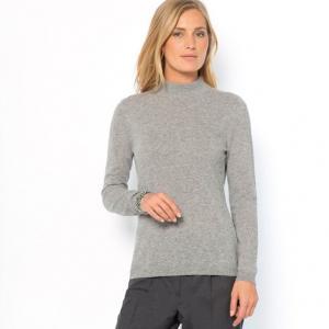 Пуловер, 100% кашемира ANNE WEYBURN. Цвет: бежевый экрю