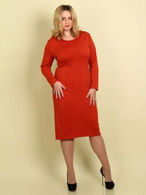 Платье Элит SPARADA. Цвет: терракотовый