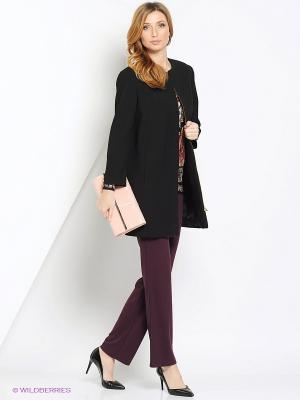 Пальто TUZUN. Цвет: черный