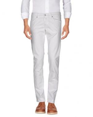 Повседневные брюки DNM-BRAND. Цвет: белый