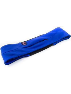 Пояс-сейф для бега и фитнеса Малинаспорт Malinasport. Цвет: синий