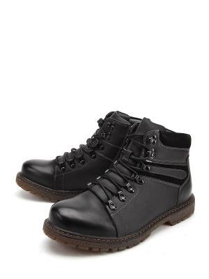 Ботинки Avery. Цвет: черный