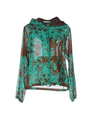 Куртка FAIRLY. Цвет: зеленый