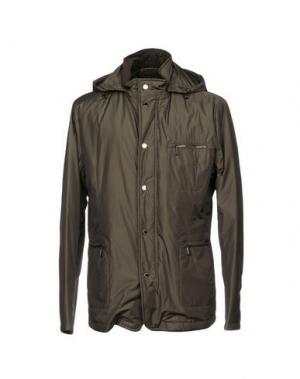 Куртка MOORER. Цвет: стальной серый