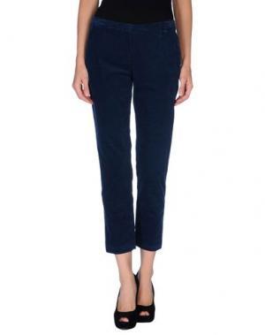 Повседневные брюки KILTIE. Цвет: грифельно-синий