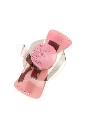 Заколка-автомат для волос Pretty Mania. Цвет: розовый, серебристый, черный