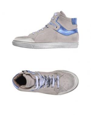 Высокие кеды и кроссовки GRANT GARÇON. Цвет: серый