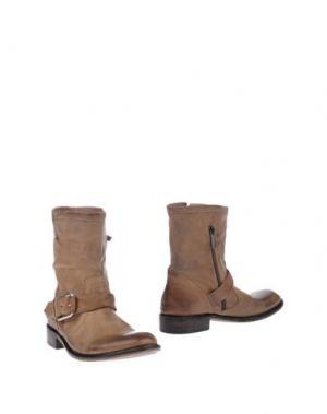 Полусапоги и высокие ботинки LENA MILOS. Цвет: хаки