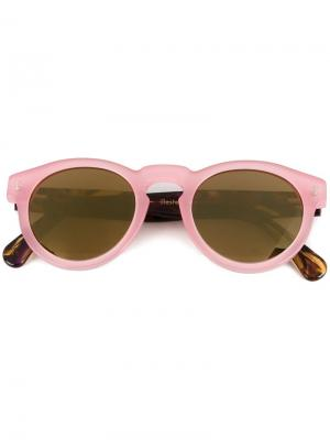 Солнцезащитные очки Leonard Illesteva. Цвет: розовый и фиолетовый