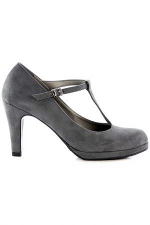 Туфли NILA. Цвет: серый