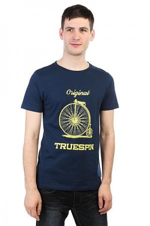Футболка  #6 Navy TrueSpin. Цвет: темно-синий