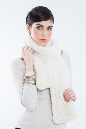 SCARF Rolf Schulte. Цвет: white