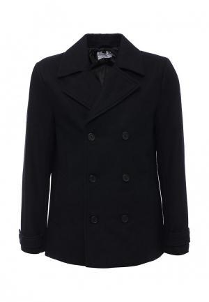Пальто Topman. Цвет: синий