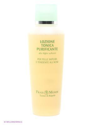 Лосьон-тоник для очищения кожи лица и снятия макияжа Frais Monde. Цвет: зеленый