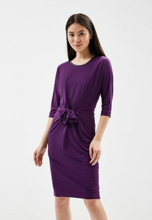 Платье Aelite. Цвет: фиолетовый