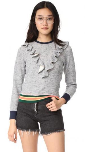 LSweatshirt Warm. Цвет: морской голубой