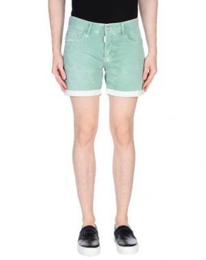 Джинсовые шорты ANTONY MORATO. Цвет: светло-зеленый