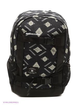Рюкзак DC Shoes. Цвет: черный, голубой