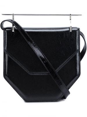 La Fleur du Mail shoulder bag M2malletier. Цвет: чёрный