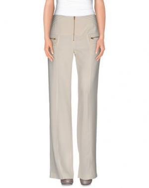 Повседневные брюки CARLA CARINI. Цвет: слоновая кость