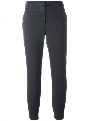 Укороченные брюки Dorothee Schumacher. Цвет: серый