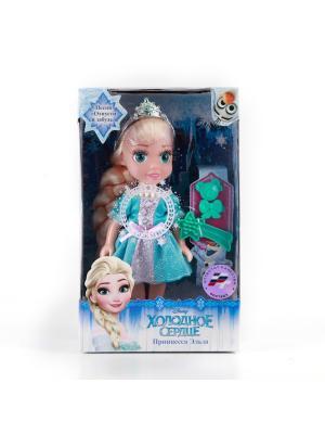 Кукла Карапуз disney frozen Эльза. Цвет: бирюзовый