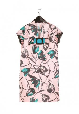Платье Artwizard. Цвет: розовый