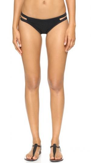 Плавки бикини Peahi Tori Praver Swimwear. Цвет: темно-серый