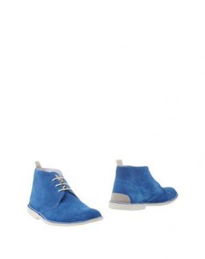 Полусапоги и высокие ботинки ANGELO NARDELLI. Цвет: пастельно-синий