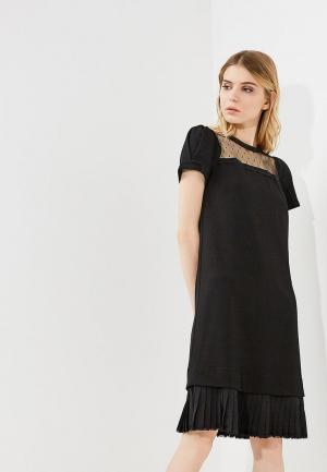 Платье Twin-Set Simona Barbieri. Цвет: черный