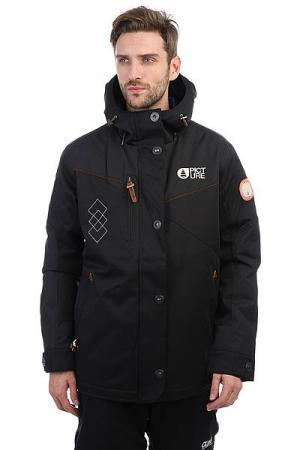 Куртка утепленная  Number Real Black Picture Organic. Цвет: черный