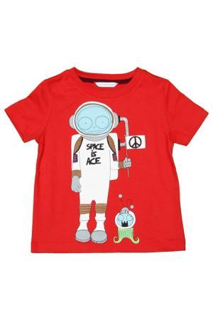 Футболка Little Marc Jacobs. Цвет: красный